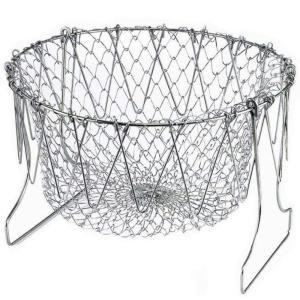 0139 Foldable Strainer Chef Basket - Bulkysellers.com