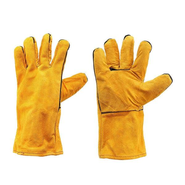 0716 Protective Durable Heat Resistant Welding Gloves - Bulkysellers.com