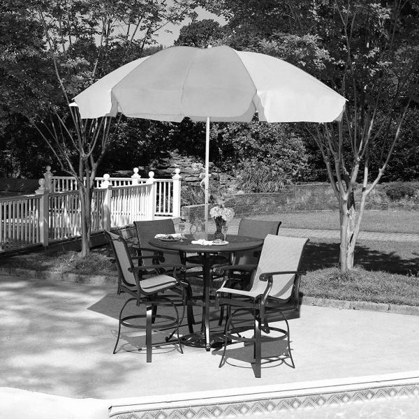 1276 Sun Protection Water Proof Fabric Polyester Garden Umbrella for Beach, Lawn - Bulkysellers.com
