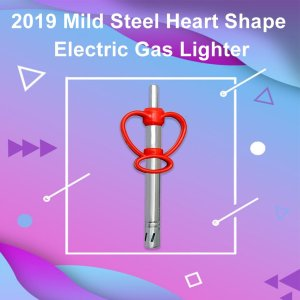 2019 Mild Steel Heart Shape Electric Gas Lighter - Bulkysellers.com