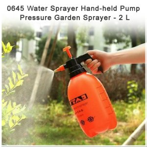 0645 Water Sprayer Hand-held Pump Pressure Garden Sprayer - 2 L - Bulkysellers.com