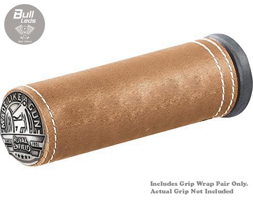 Bull-LEDs | Vintage Grip Wraps Bike Handle Grip (Dark Desert Tan) Pair