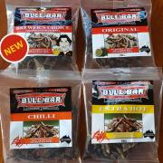 Beef Jerky Taster Pack - Brewer's Choice, Original, Chilli, Extra Hot
