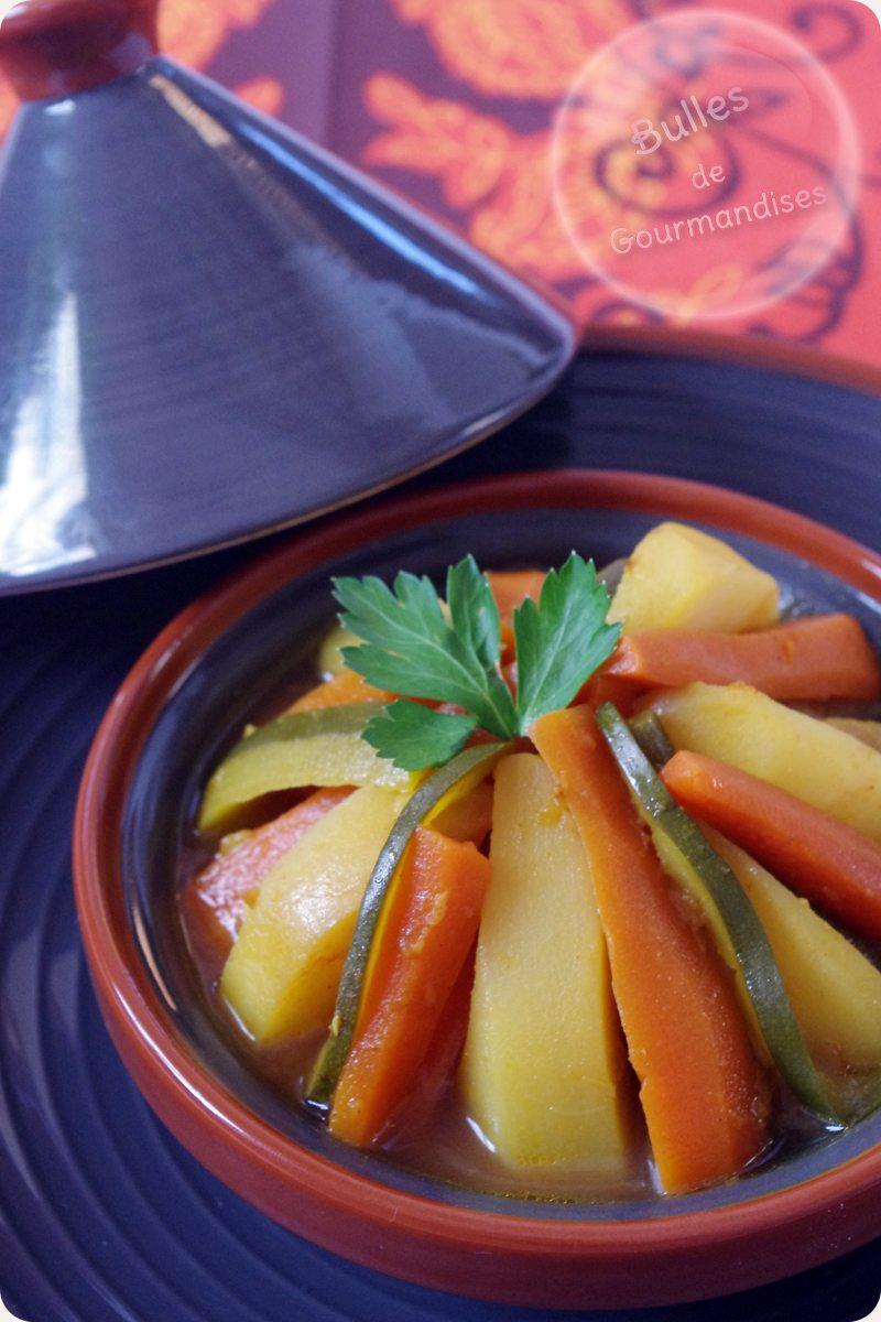 tajine de legumes aux epices pour