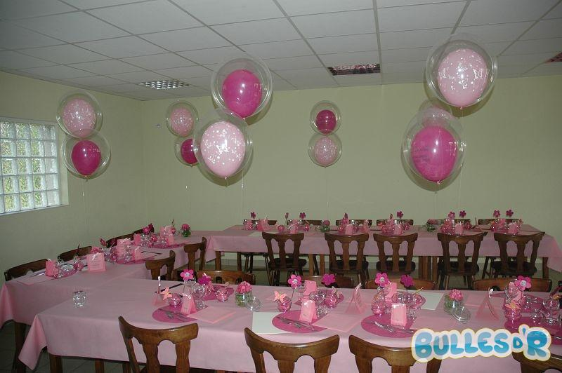 Bullesdr Dcoration De Fte De Baptme En Ballons
