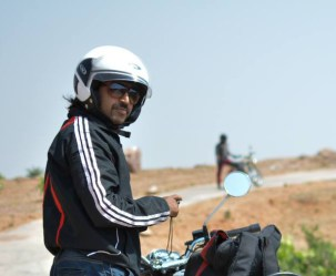 Manish Satija Bulleteers rider