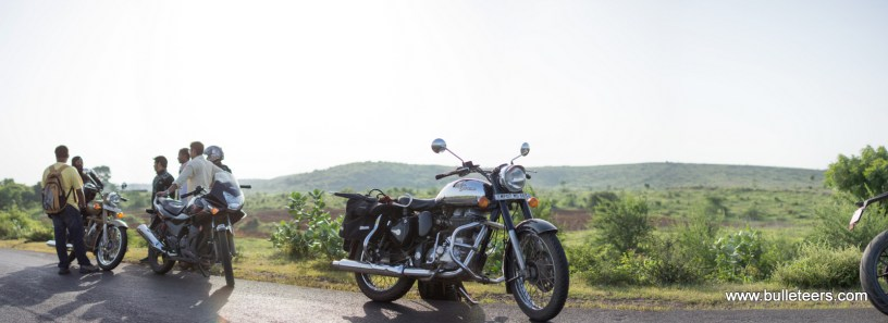 Bulleteers Breakfast Ride from Gwalior to Shivpuri