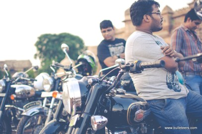 Bulleteers getting together to prep up for Distinguished Gentleman's Ride 2014