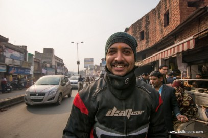 At Deviram Sweets, Agra while on the way to Kiker Lodge for Rider Mania 2015