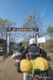 As the bulleteers arrived at Kiker Lodge for rider mania 2015. Greeted by the Ji Aayan Nu Board