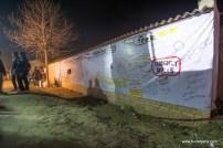 Graffiti wall at rider mania 2015