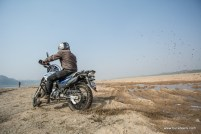 A hero impulse on the banks of river chambal