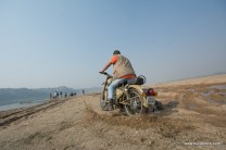 Akash Jain taking his desert storm to the river