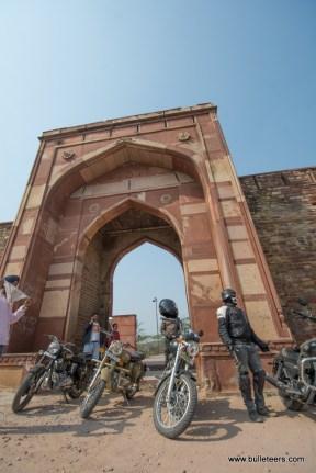Bulleteers at the Shergarh Fort, Dholpur, Rajasthan