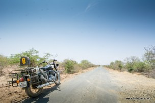 bulleteers ride to see the cave paintings in likhichhaj in pahadgarh, madhya pradesh