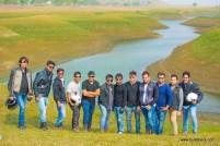 Bulleteers at Pagara Grassland, Madhya Pradesh