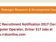 RRDC Recruitment 2017 for 317 Clerk, Computer Operator, Peon Posts