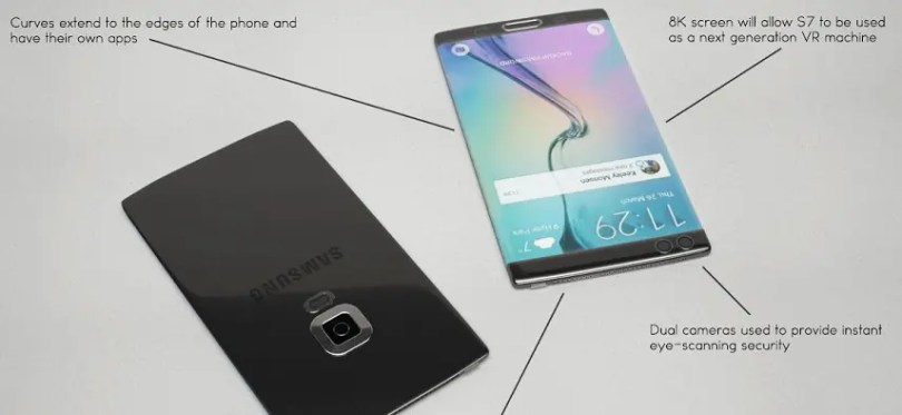 Samsung galaxy s7 features