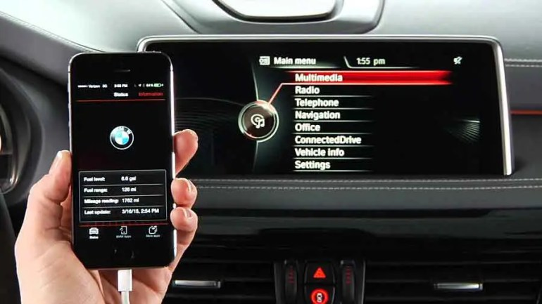 BMW Connected App Work as your Personal Assistant