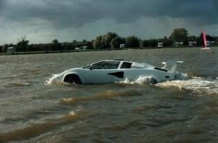 James Bond Amphibious Lamborghini is for sale on eBay