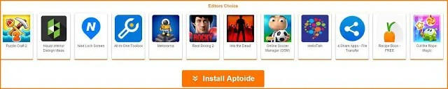aptoide apps