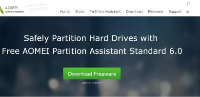 AOMEI Partition -The Perfect Software for Disk Partition