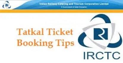 Tatkal booking