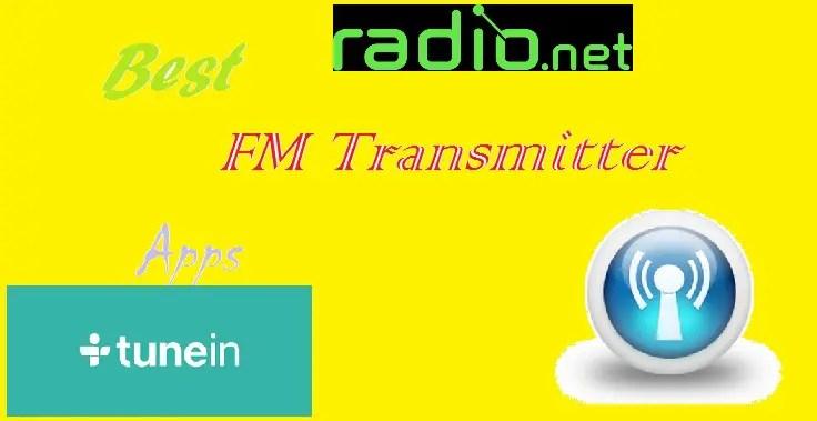 FM transmitter apps