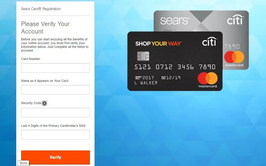 Activate Sears Card Login - Explained in Easy steps