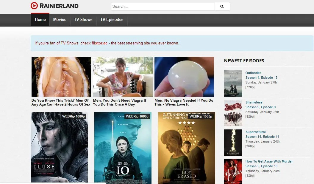 sites like tinklepad movies