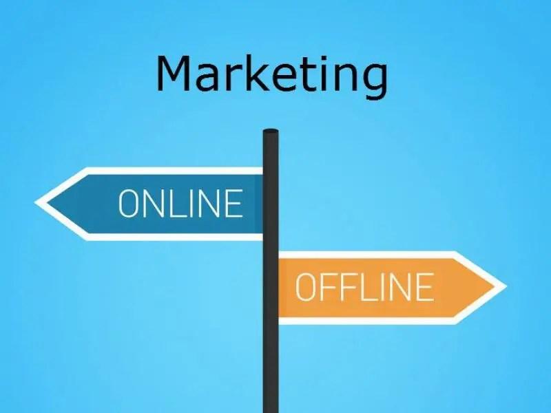 Online and Offline Marketing