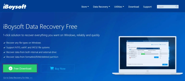 iBoysoft Data Recovery Software