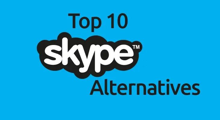 Best Alternatives To Skype
