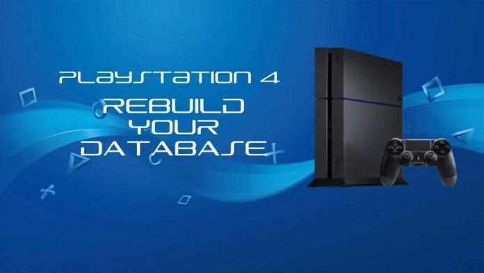 Ps4 rebuild database