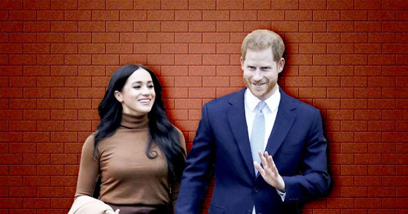 Prince Harry and Meghan Markle Drop Royal HRH titles