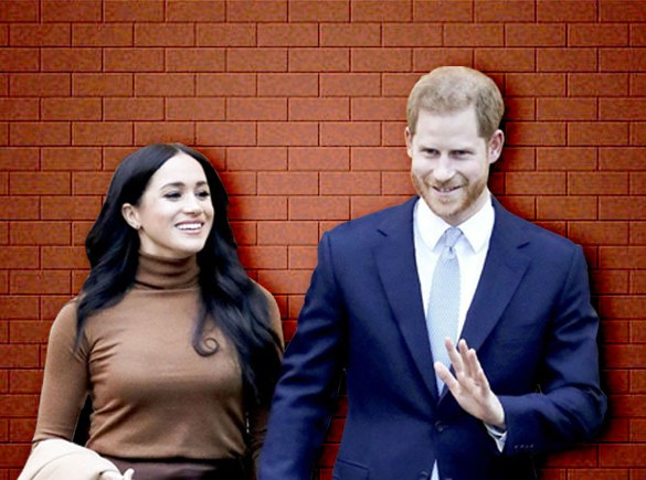 Prince Harry and Meghan Markle Drop Royal HRH titles