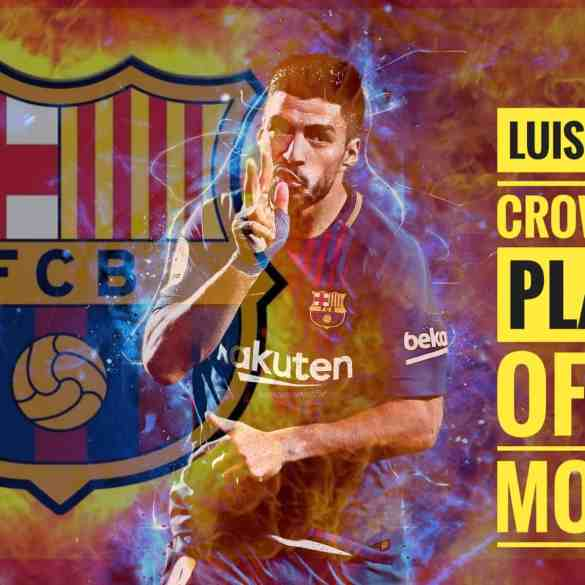 striking of Luis Suarez in la liga - Bullet News