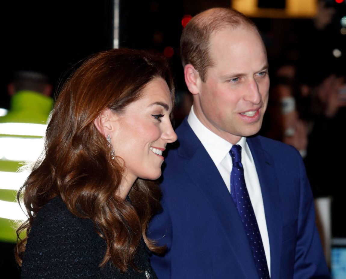 With Prince Williams