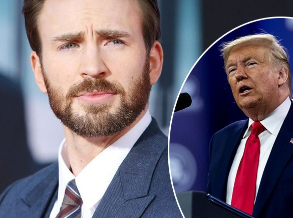 Captain America Star Chris Evans Criticize President Trump In A Tweet