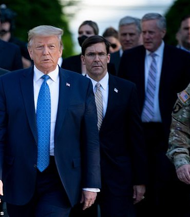 Trump requested for 10k troops