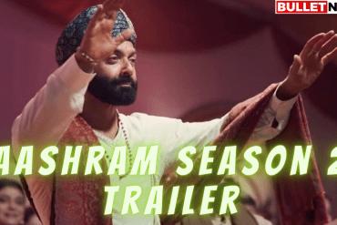 Aashram Season 2 Trailer