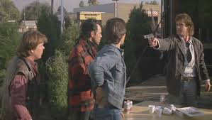 Lethal Weapon - tree shoot out