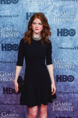 "SEATTLE, WA - MARCH 21:  Actress Rose Leslie attends HBO's ""Game Of Thrones"" season 3 premiere at Cinerama Theater on March 21, 2013 in Seattle, Washington.  (Photo by Mat Hayward/Getty Images)"