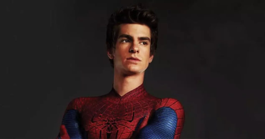 Garfield says his image with Maguire in Spider-Man 3 is Photoshop