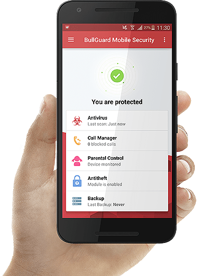 BullGuard Mobile Security for Android