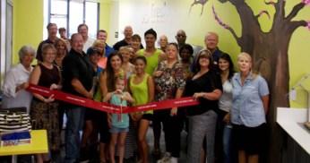 Fresh FroYo + Smoothie Bar Ribbon Cutting Bullhead Area Chamber of Commerce Bullhead City AZ Arizona Mohave County