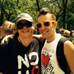 Me and the awesome Adam Bouska of NOH8