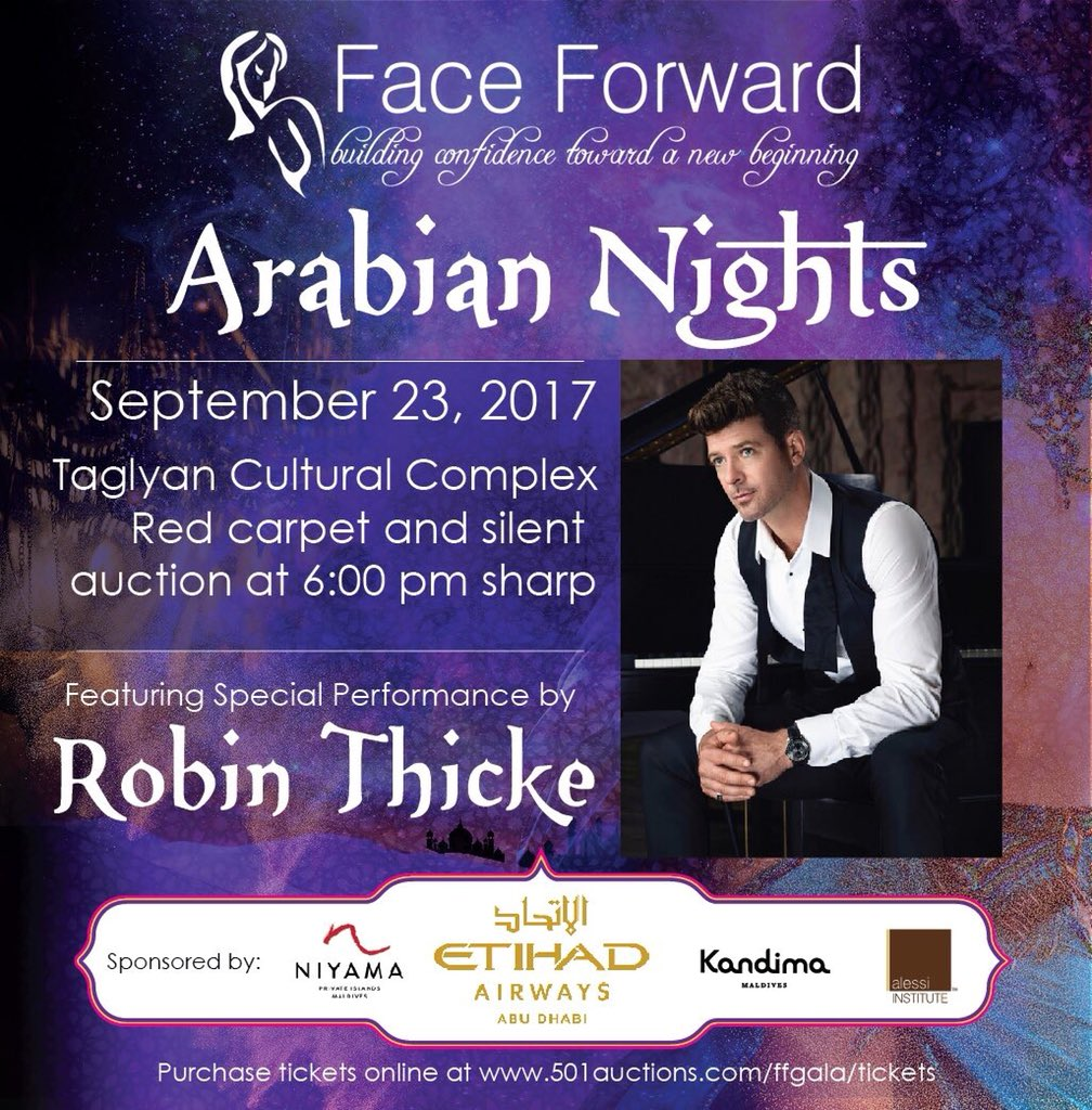 2017 Face Forward Arabian Nights Gala Red Carpet