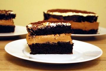 Ciasto czekoladowe z kremem 3