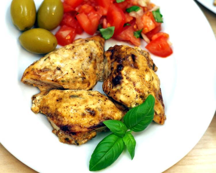 Kurczak w jogurcie greckim 2